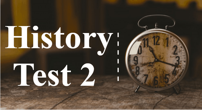 TNPSC History Questions Important Online Test 2