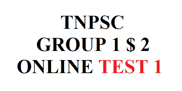 Free Online Test 1 Group 1 2